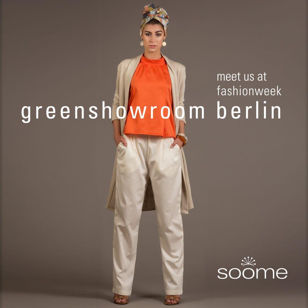 Fashionweek in Berlin Greenshowroom 2016